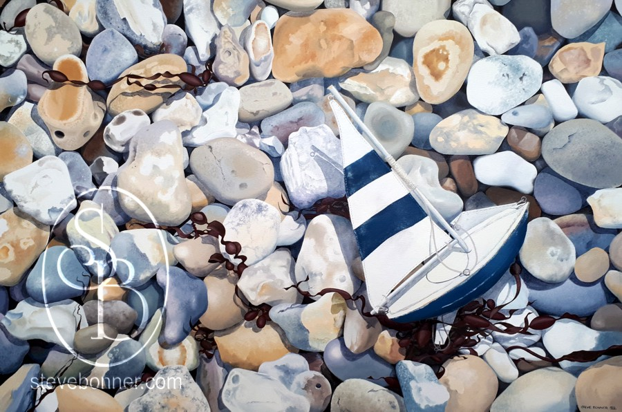 Stoned – painting pebbles, old and new