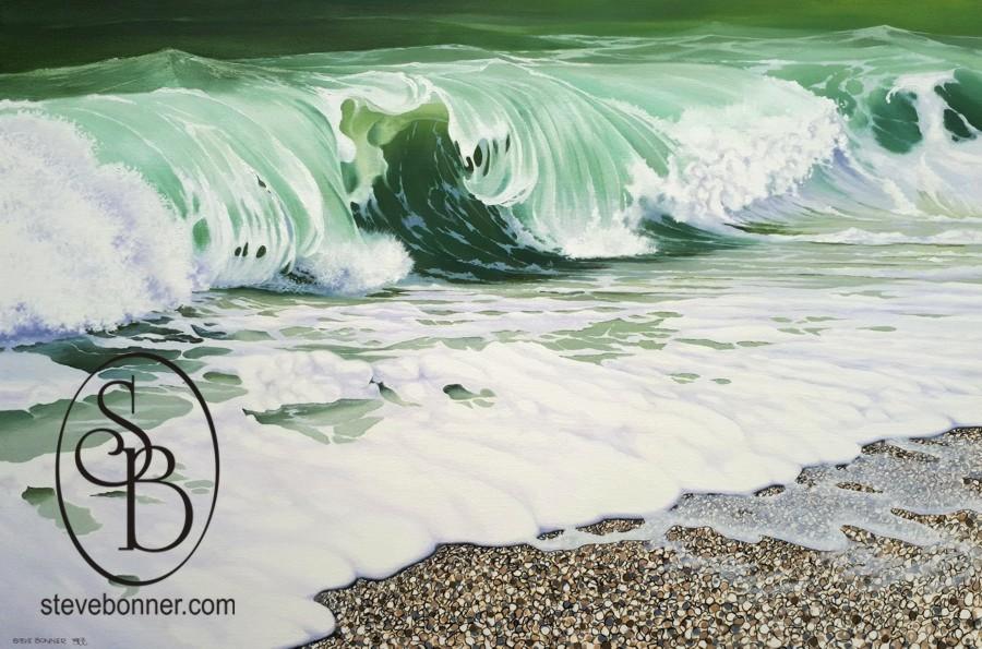 Surf Study by Steve Bonner