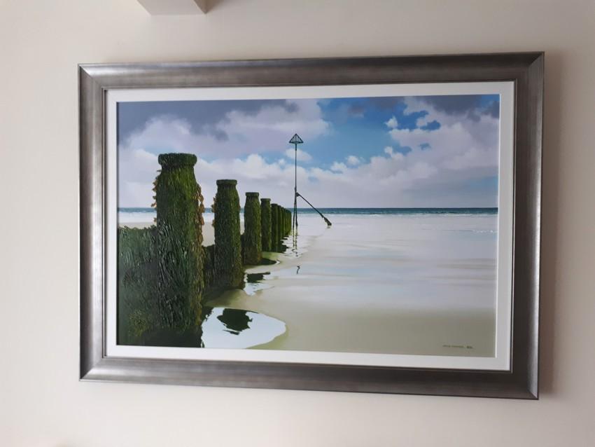 Low Tide by Steve Bonner - Hanging