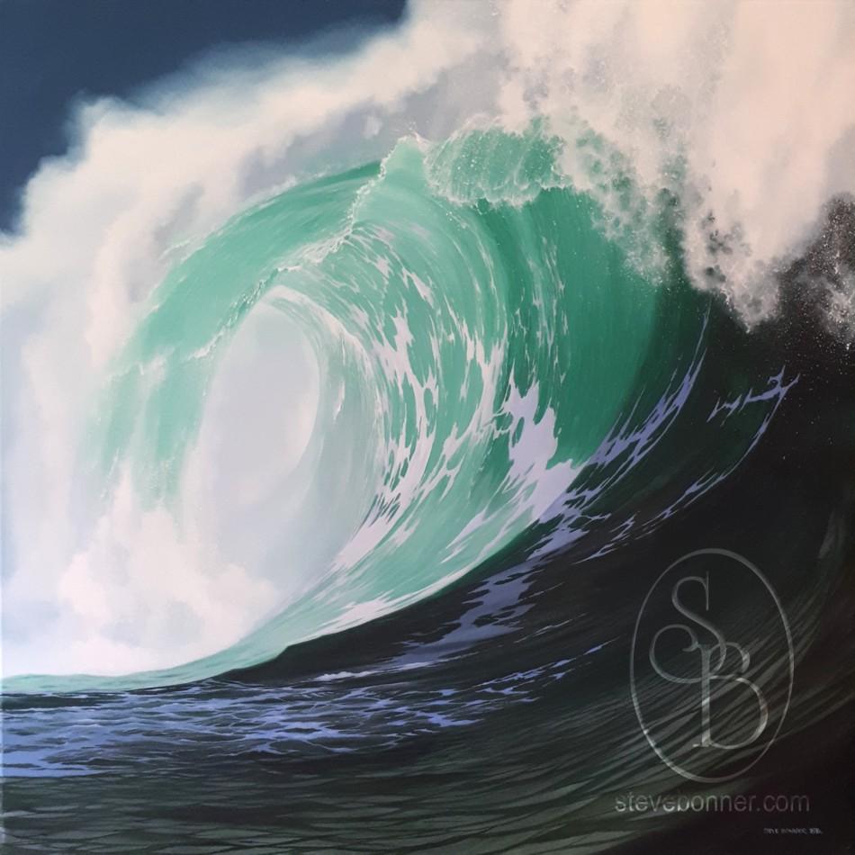 The painting Breaker No1 by Steve Bonner