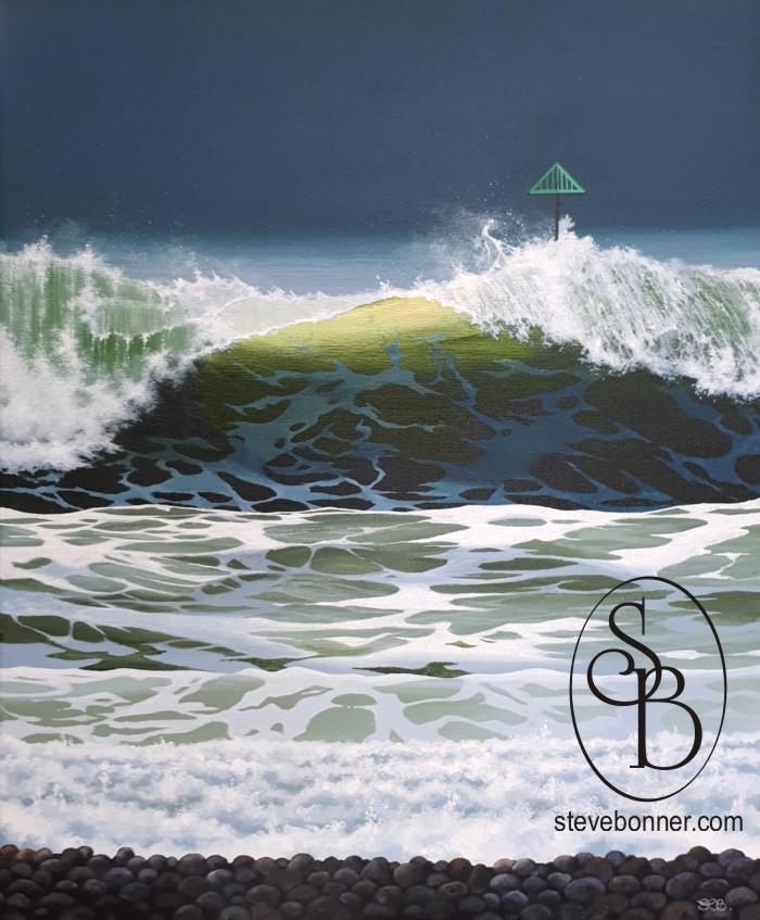 Wave Study 6 by Steve Bonner
